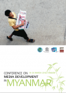 Conference on Media Development in Myanmar 2012
