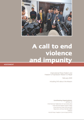 Nepal: A call to end violence and impunity