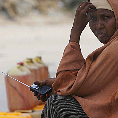 Radio remains a crucial form of media in crises