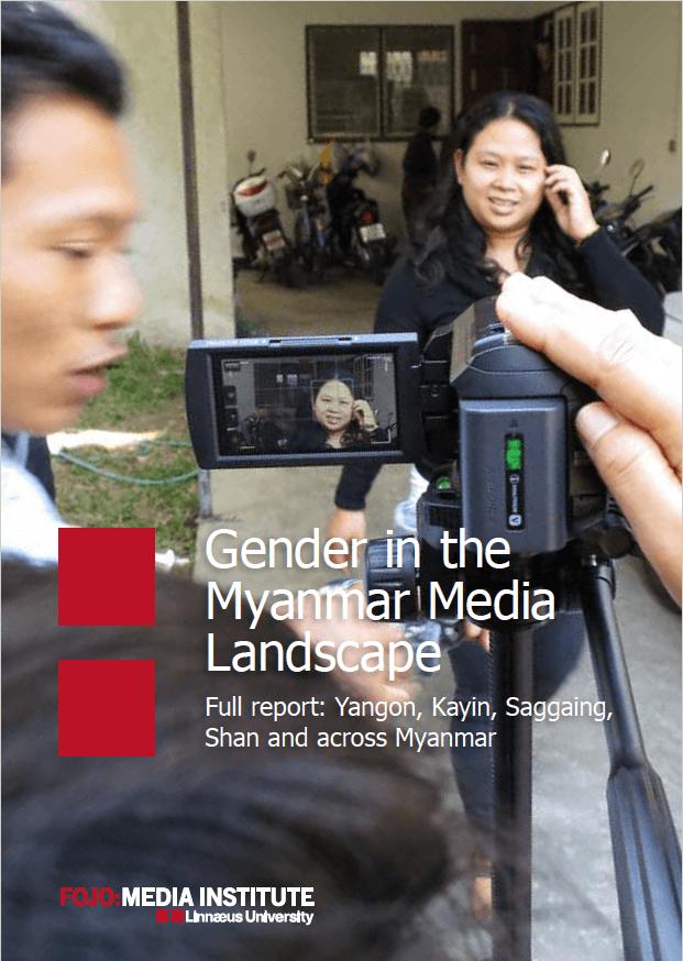 Gender in the Myanmar media landscape