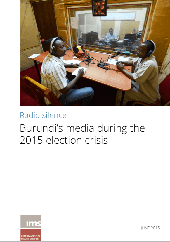 Radio silence: Burundi's media during the 2015 election crisis