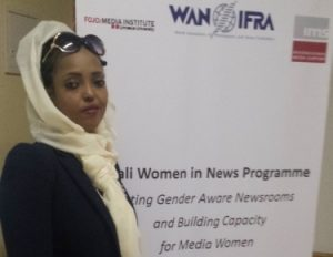 Sagal Mustafe Hassan, Program Producer, Reporter & News Anchor at Universal TV.