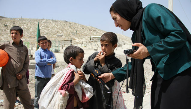 New exhibition: Afghan photographers on display