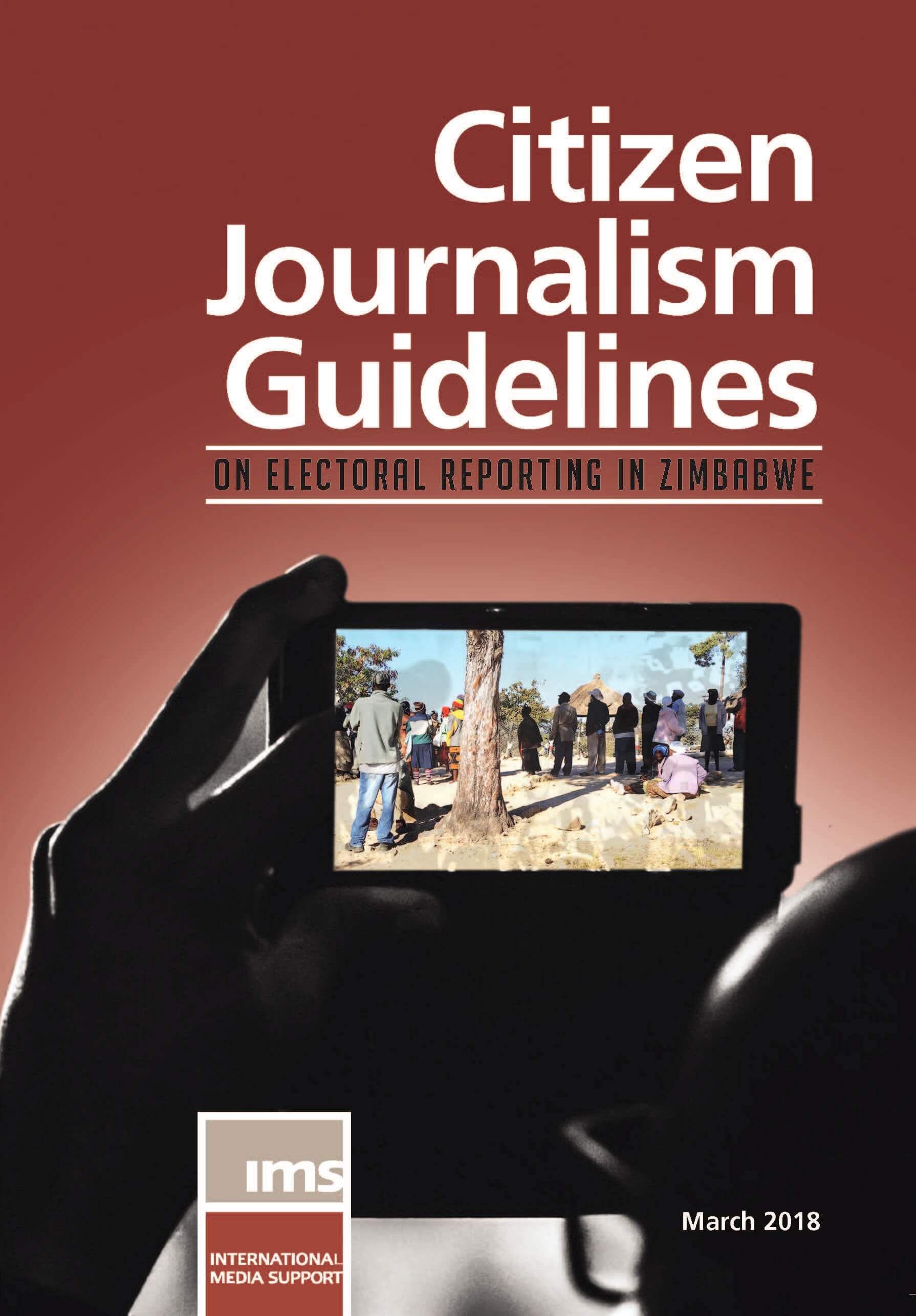 Citizen Journalism Guideline on Electoral Reporting in Zimbabwe