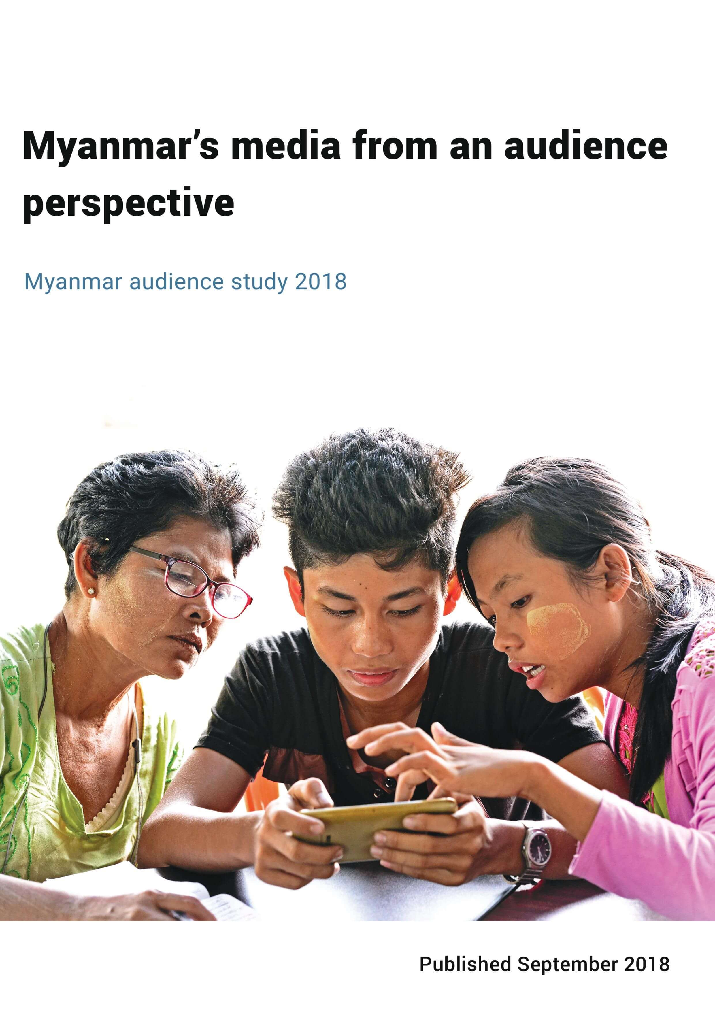 Myanmar's media from an audience perspective