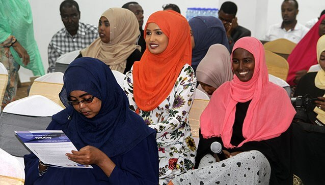 Profiles of female experts from Somalia now on Wikipedia