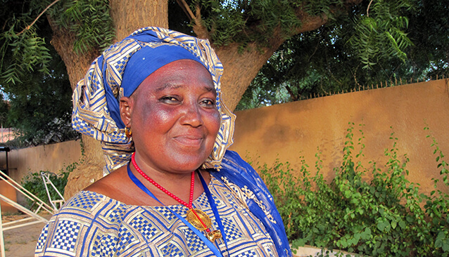 Women's voices prevent conflict in the Sahel