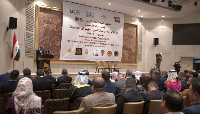 "Norway is ""proud to be a partner"" of IMS' programme on religious minorities in Iraq"
