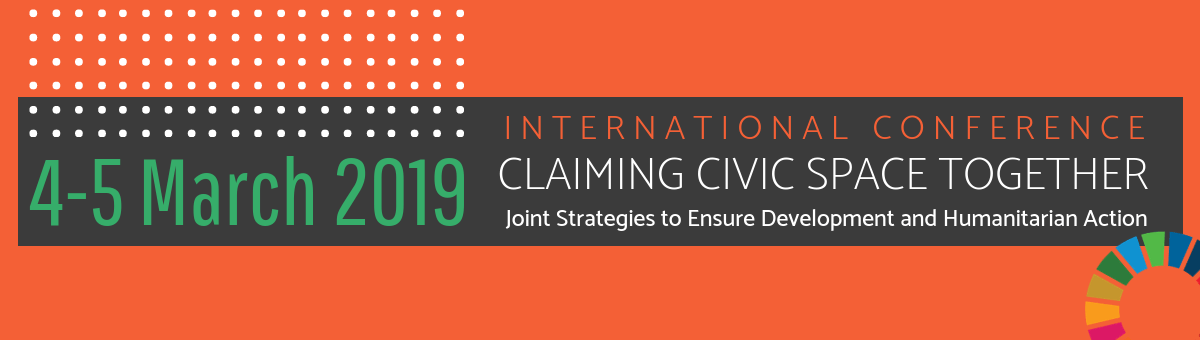 International Conference: Claiming Civic Space Together