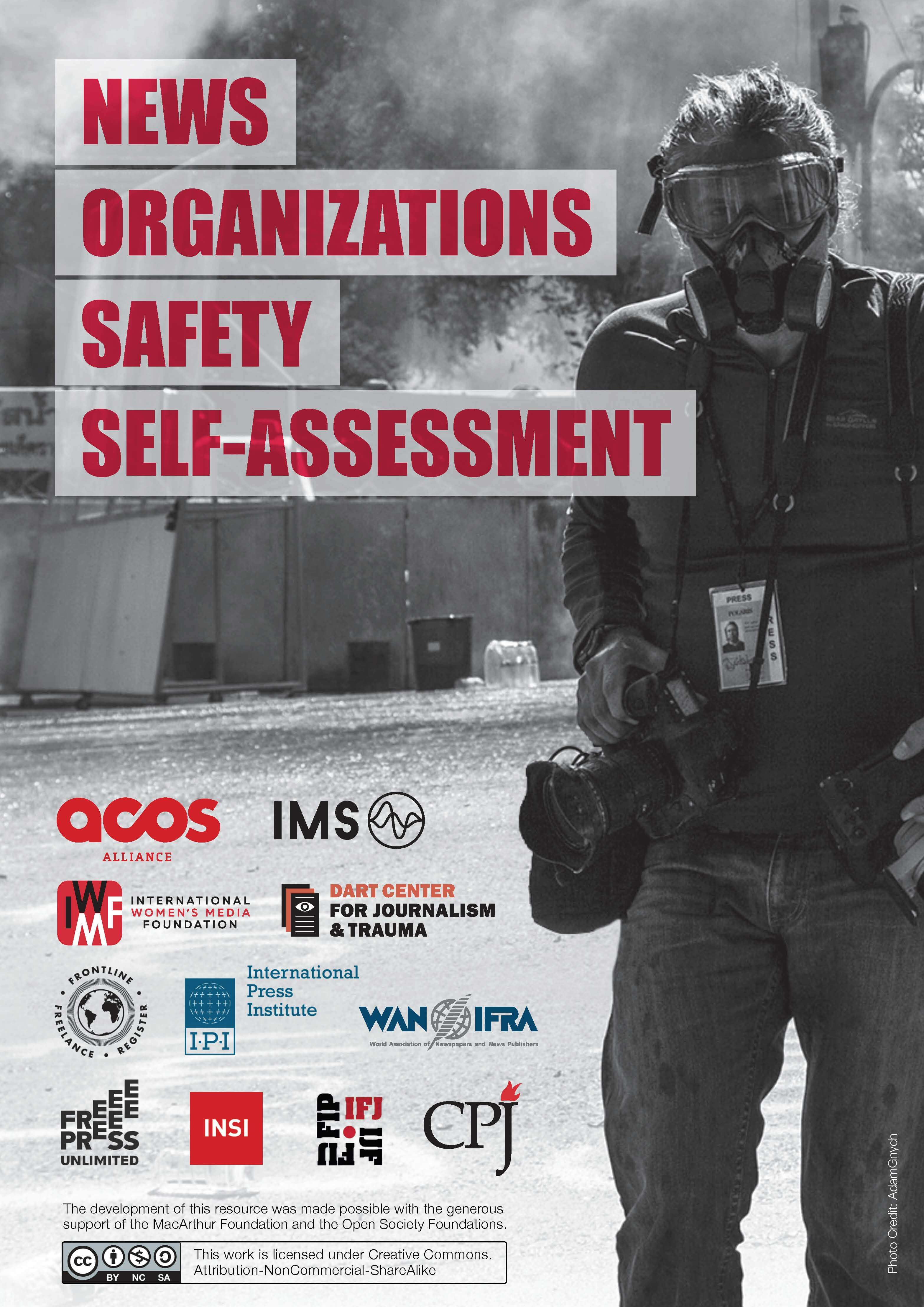 News organisations safety self assessment