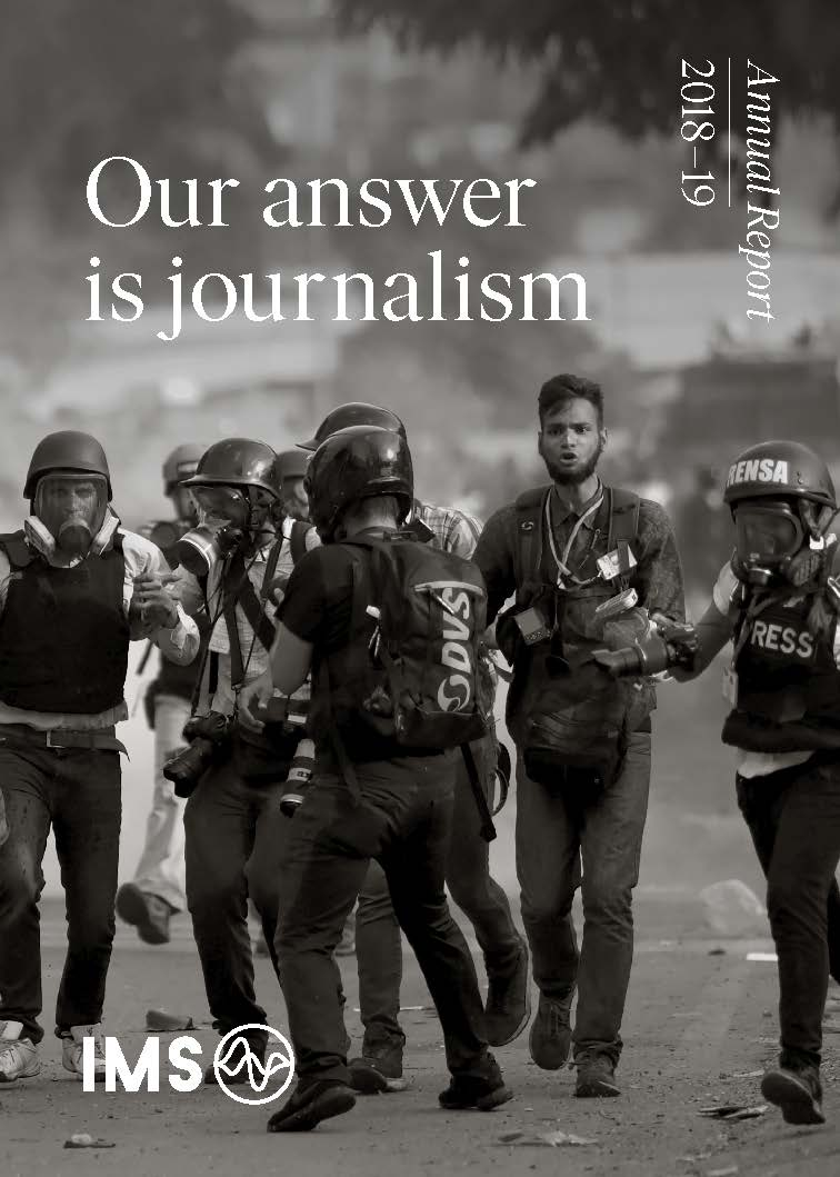 Our answer is journalism