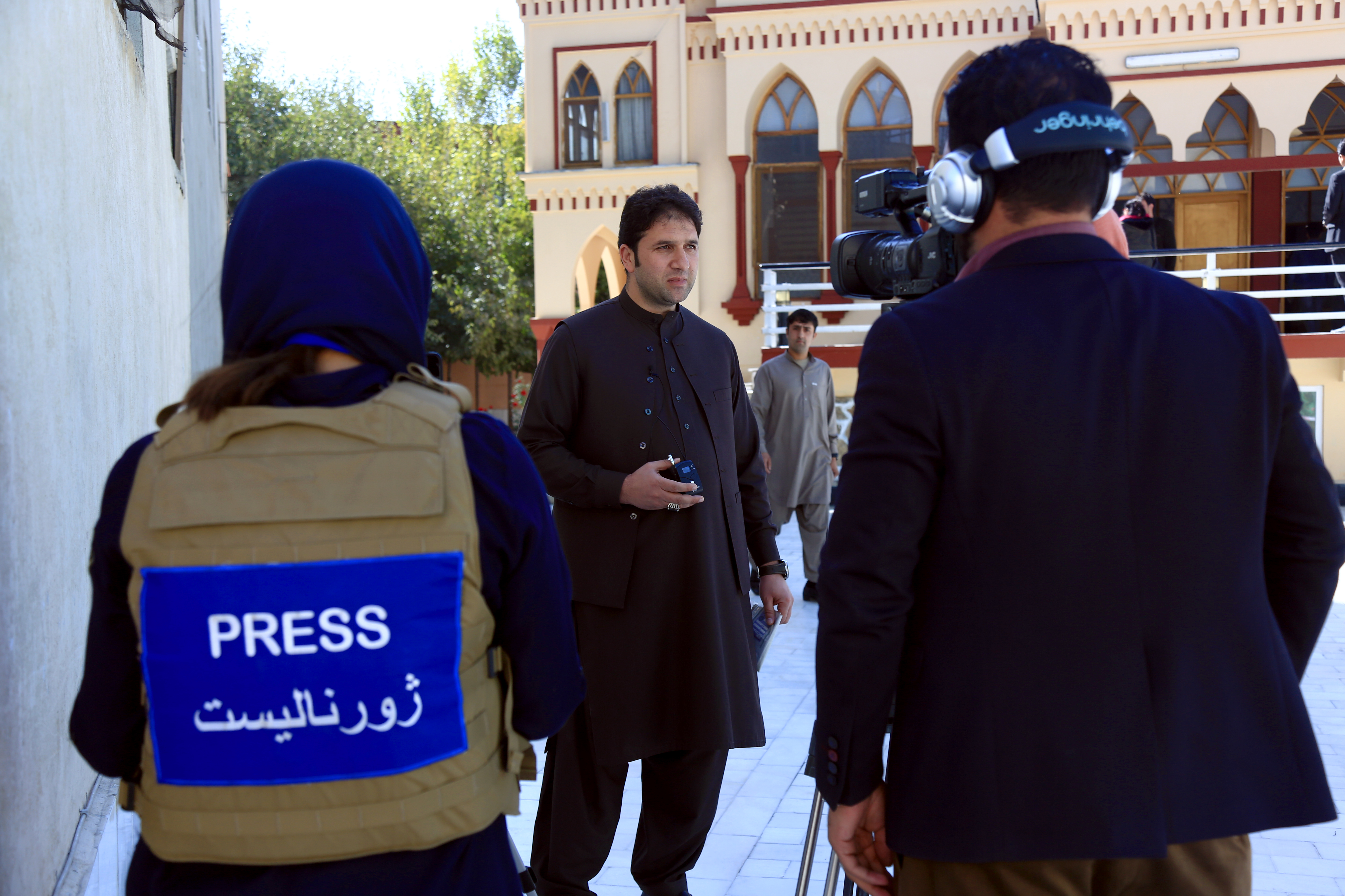 Afghan media gearing up for peace