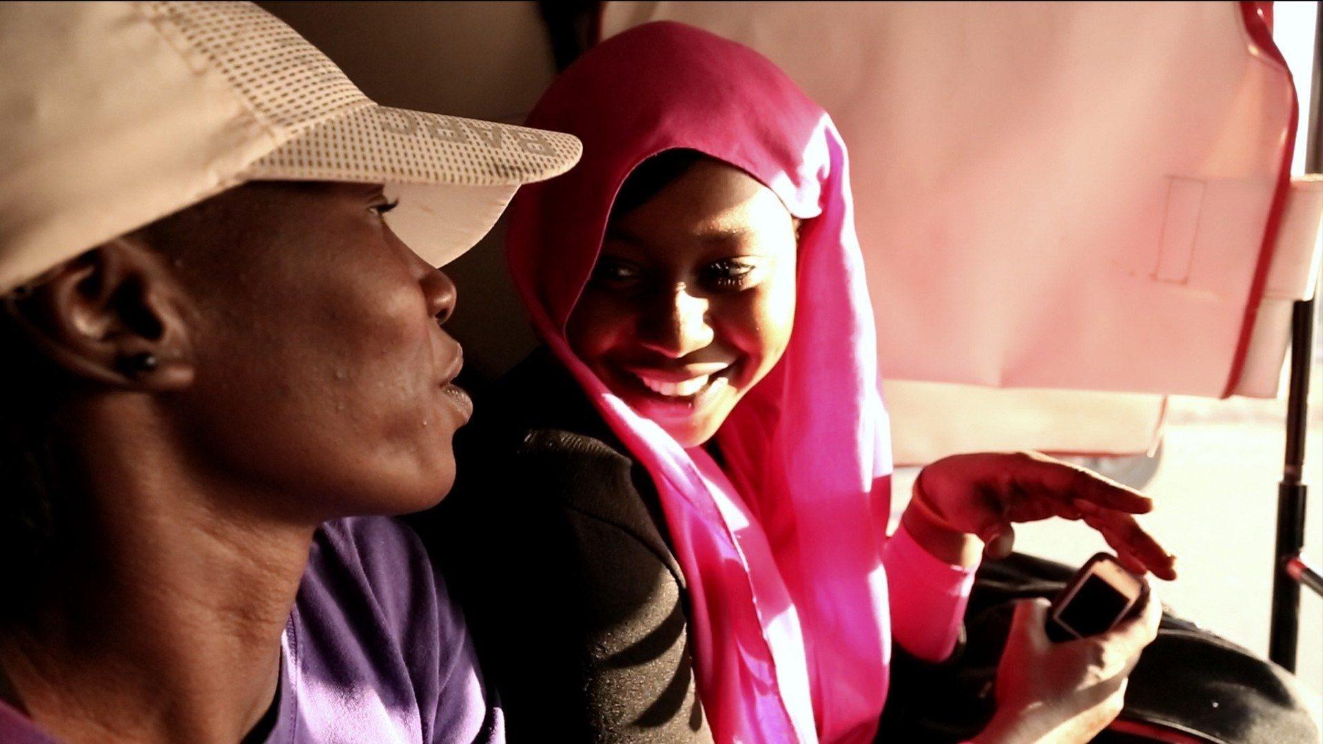 Still from the film Khartoum Offside