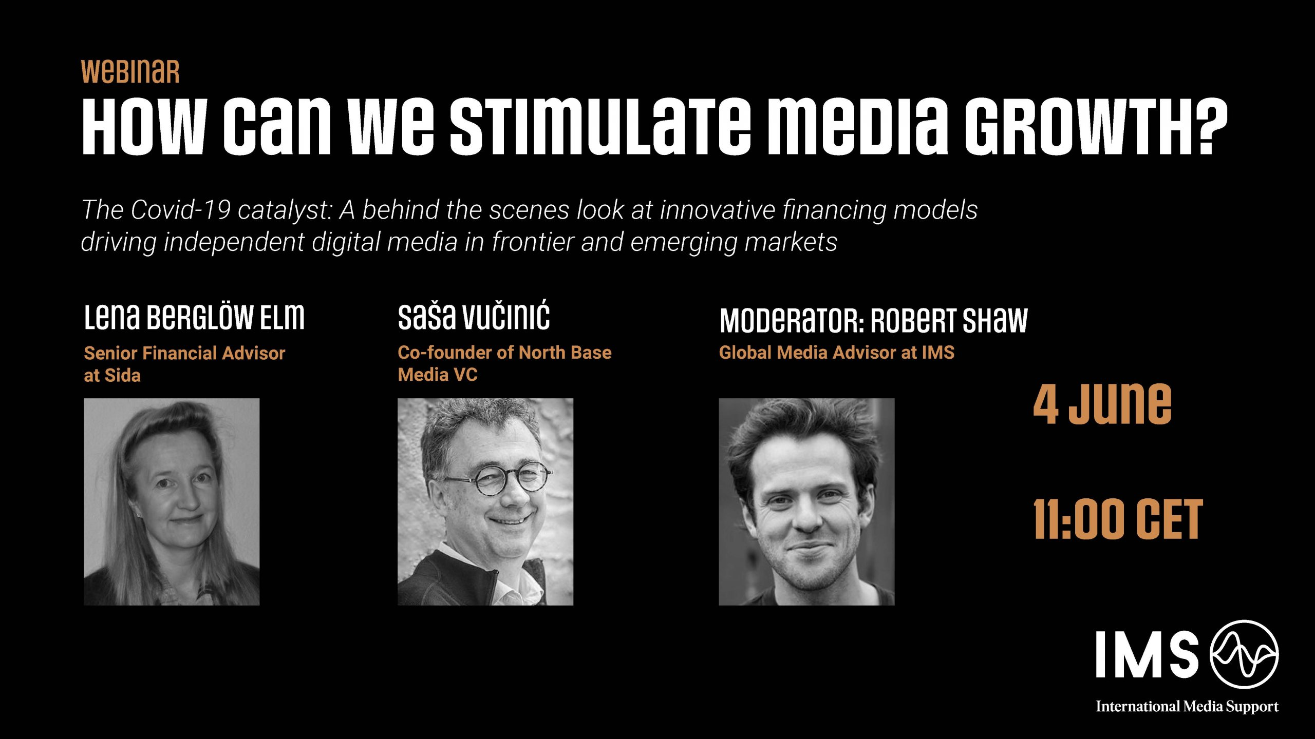 Webinar: Amid Covid-19 - how can we stimulate media growth?