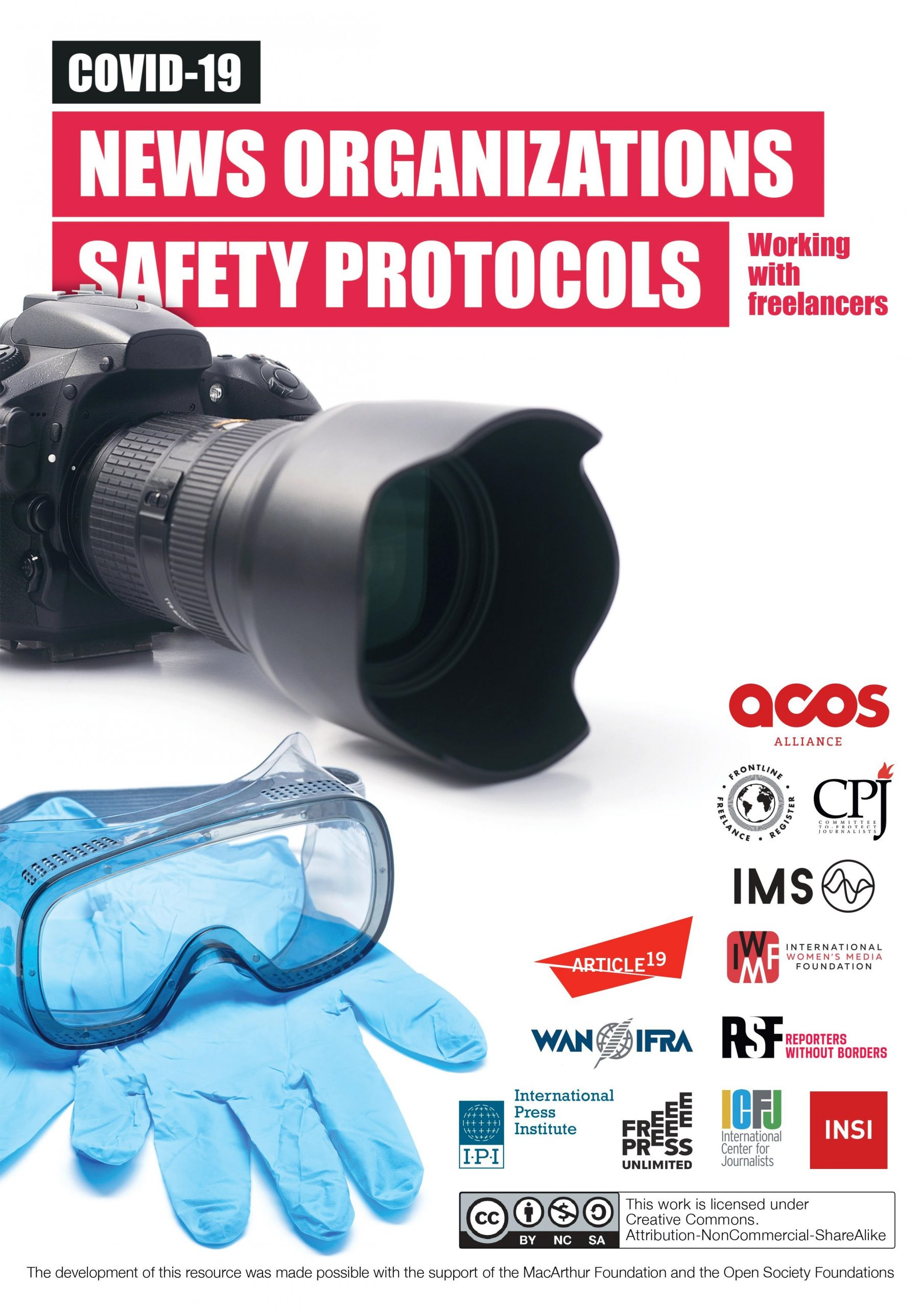 Covid-19 safety resource for media