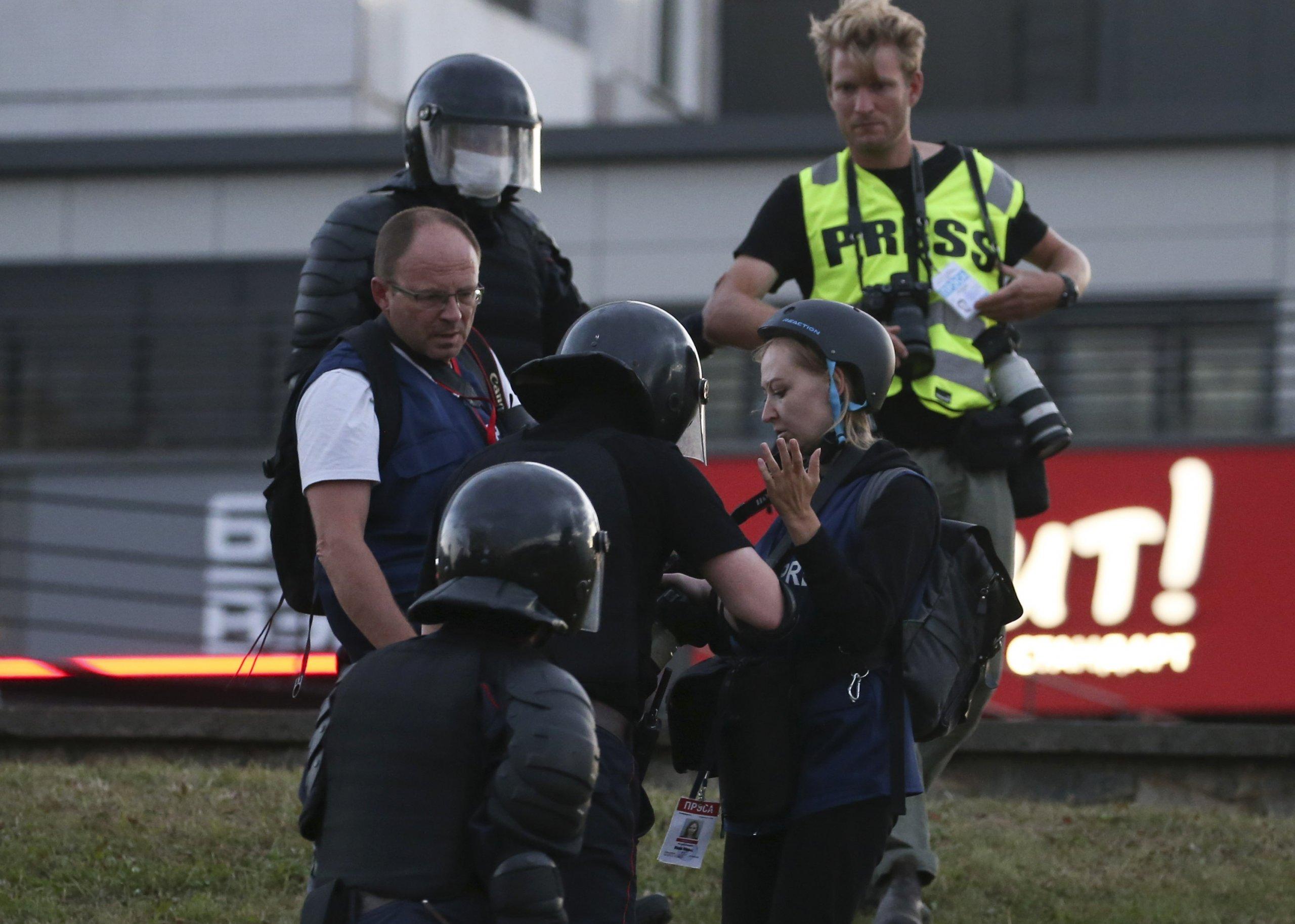 Solidarity with Belarus media