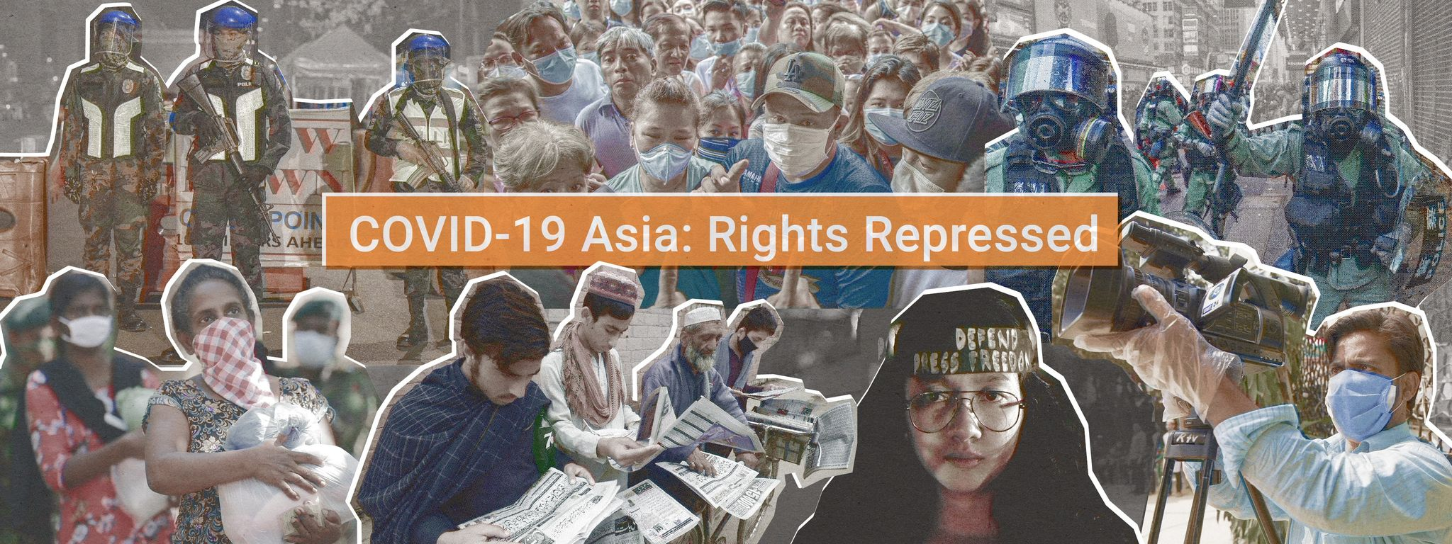New Asia journalism series sheds light on rights violations under the cover of the pandemic