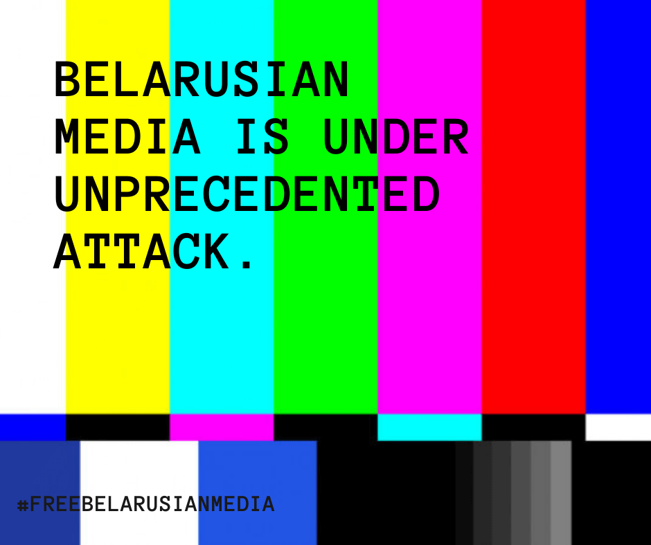 Belarusian authorities attack on remaining domestic independent media